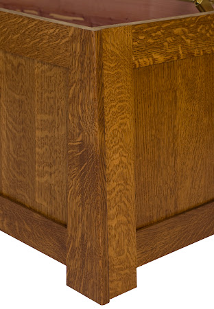 "36"" wide Teton Chest in Rustic Quarter Sawn Oak"
