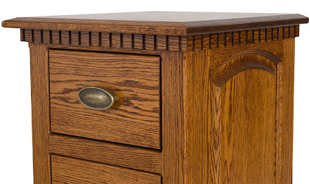 Valencia Nightstand, Lexington Oak