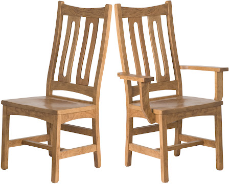 Runic Dining Chair in Rustic Oak