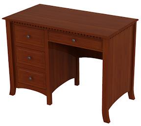 lisbon computer desk