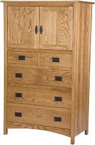 Dakota Armoire Dresser