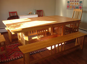 New York dining room table set