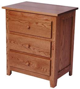 shaker nightstand