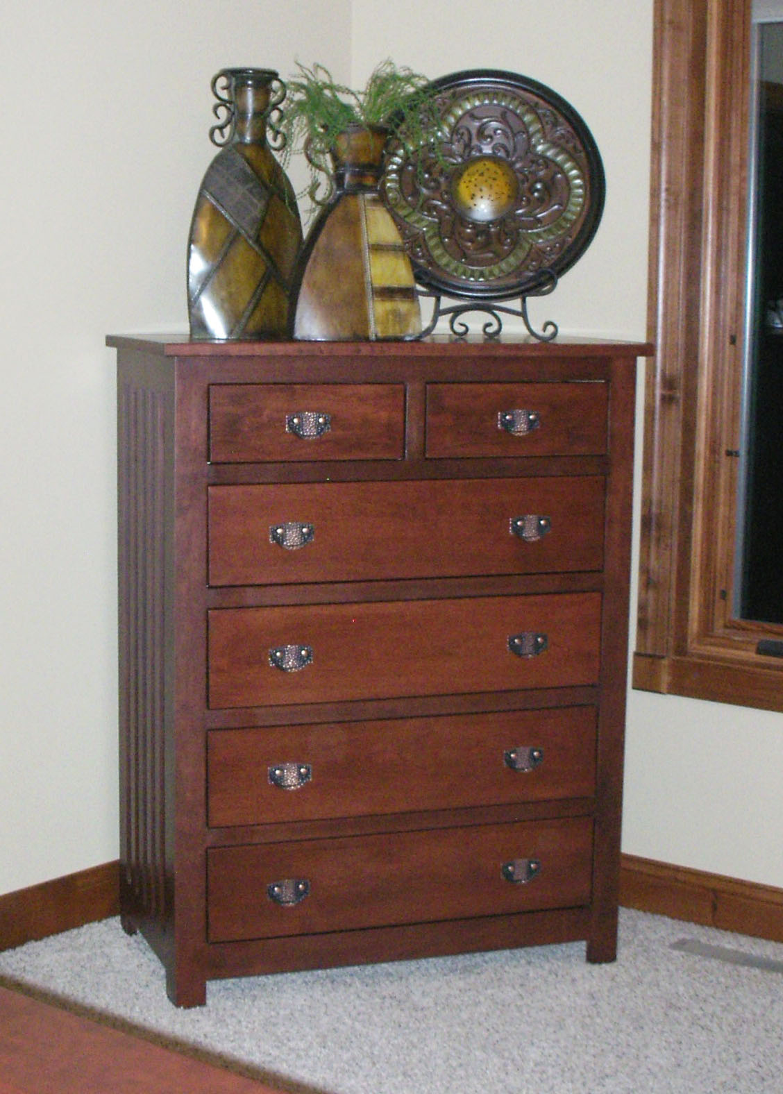 Mission Vertical Dresser In Lexington Oak. «»