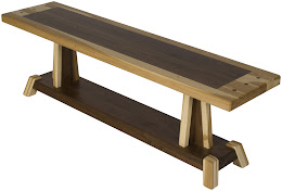 turin dining bench