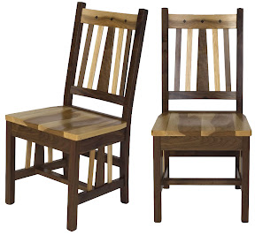 eastern mission dining chair