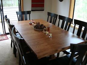 Oregon table set