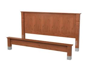 elysian platform bed