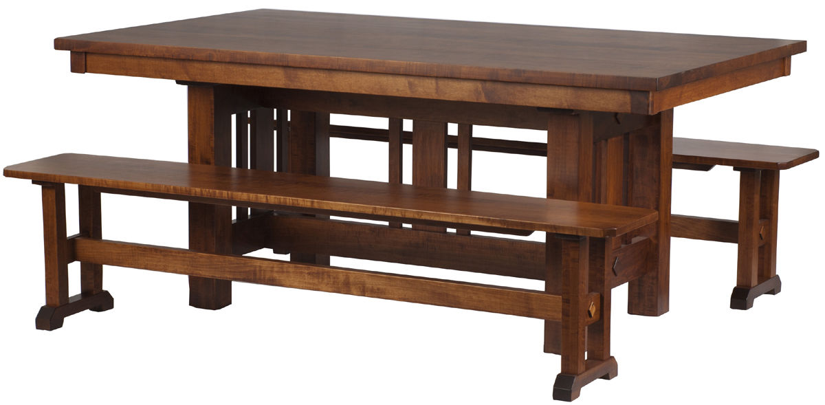 Plains Mission Dining Room Table Erik Organic
