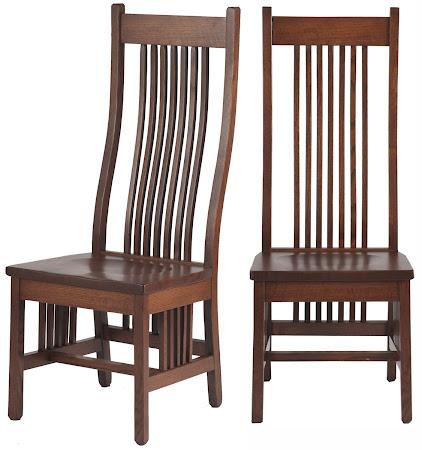 Vail Chair in Mahogany Oak