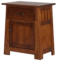 Teton Nightstand with Doors