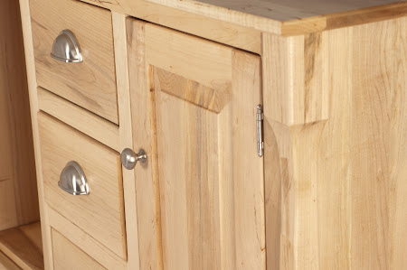 Catalina Wardrobe Dresser in Natural Maple