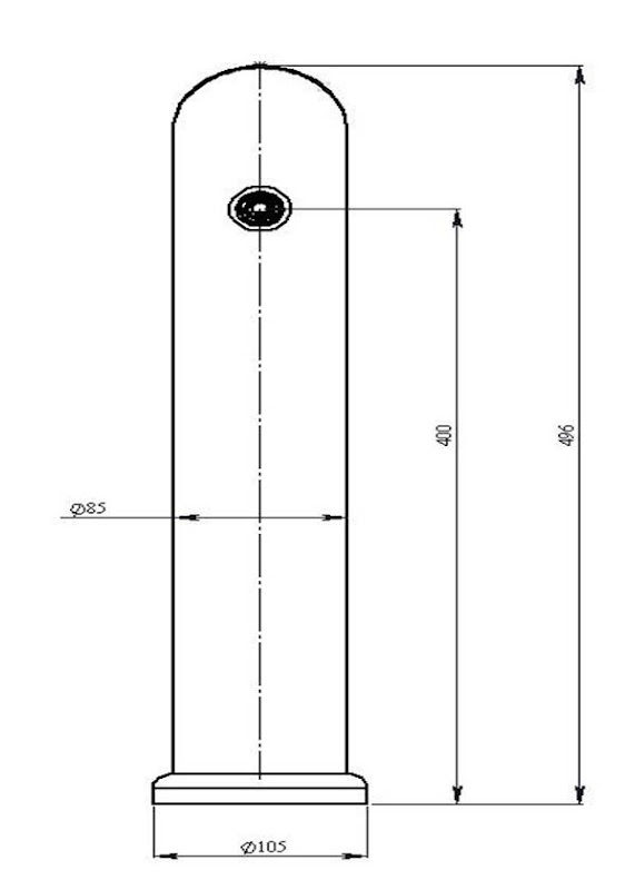 чертеж пивной колонны Маяк