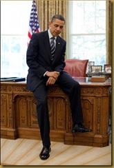 Obama Sitting