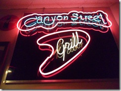 Canyon Street Grill