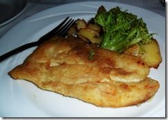 Fried Halibut