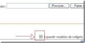 expandir modelos de widgets