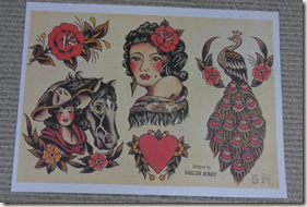 "sailor jerry gypsy  Real ""Old School"" by"