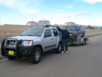 Towing At The Xterra S Limit Second Generation Nissan Xterra