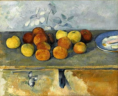 walter guillaume cezanne pommes et biscuits
