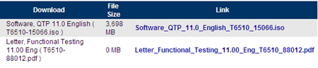 How to get QTP 11.0 Evaluation Version - HP Functional Testing Software