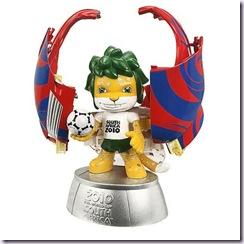 《2010南非世足賽吉祥物》ZAKUMI變形公仔1