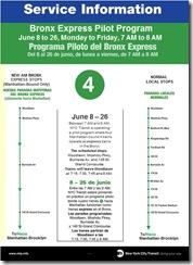 Programa Piloto del Bronx Express (4)