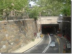 Salida de Manhattan del túnel Queens-Midtown, en 2006