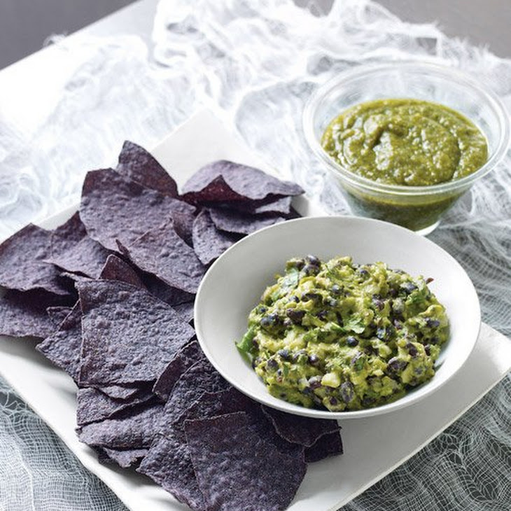 Guacamole with Black Beans