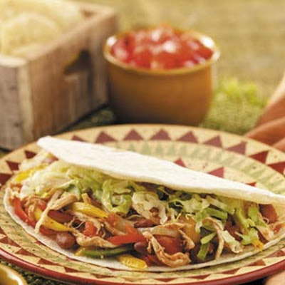Busy Mom's Chicken Fajitas