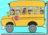 skul bas kartun