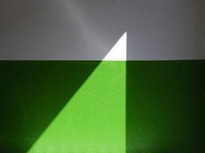 Sunlit wall