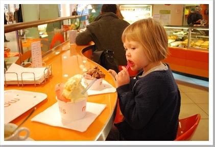A w ice-cream