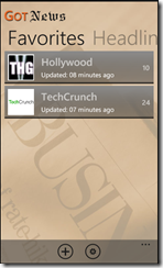 Got News  Windows Phone 7 App - 6