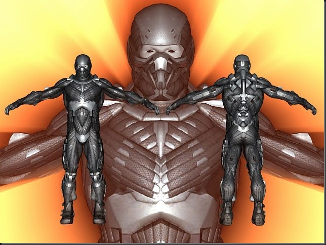 Nanosuit - Crysis - 3ds Max Model – Free DownLoad