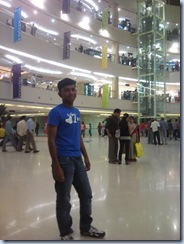 Enjoying in Express Avenue Mall