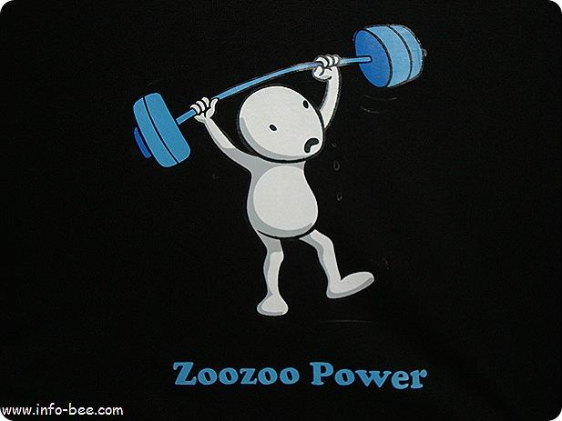 Zoozoo on t-shirt