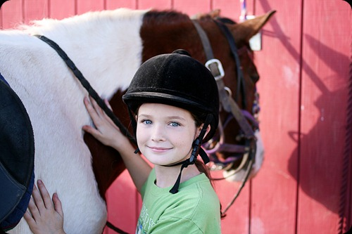 Horseback riding lesson 3