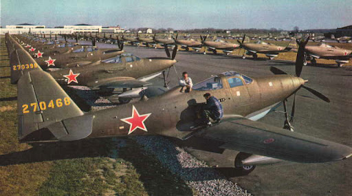 P-63 к отправке в СССР