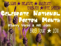 yellow and purple savvy poetry 2011