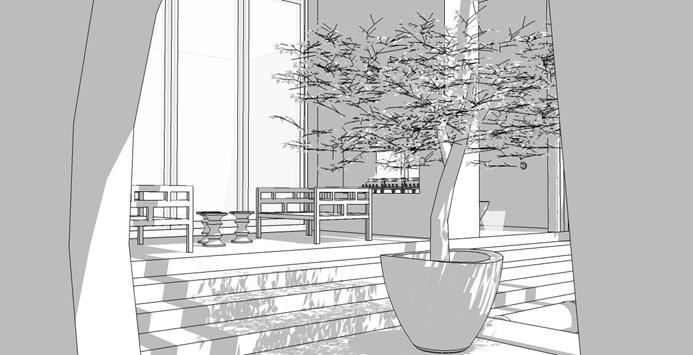 modern asian back garden 3