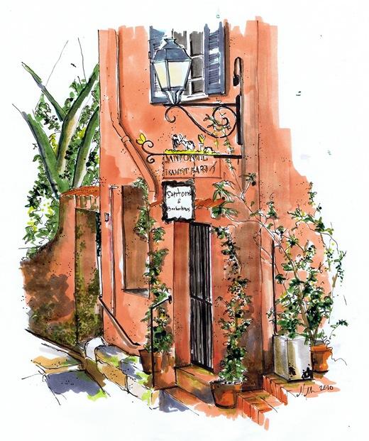 fresco building