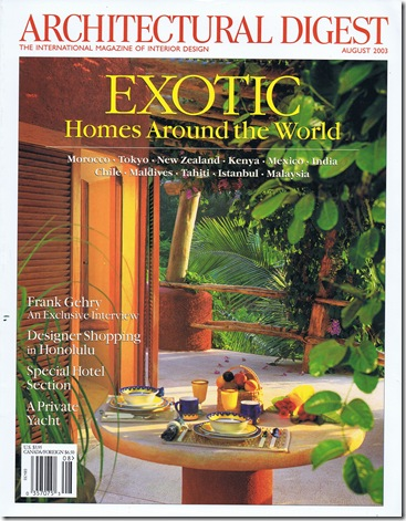 ad cover exotic homes