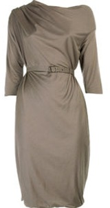 bottega vaneta asymmetric neckdress