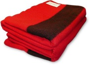hudson bay blanket red