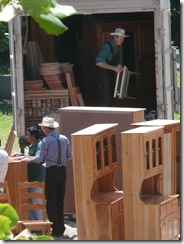 Belize Mennonite woodworkers
