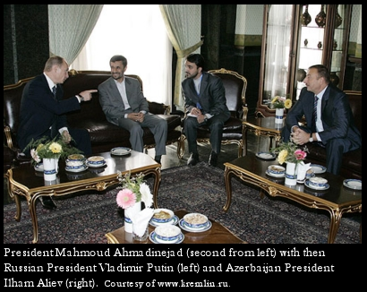 Putin, Ahmadinejad and Aliev