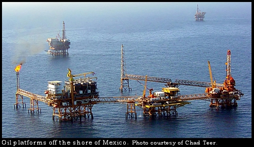 oil platforms