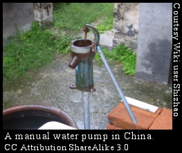 Water pump in China
