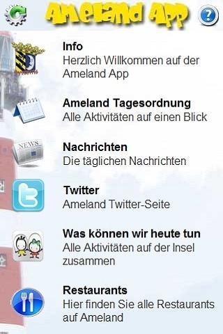 Ameland App DE